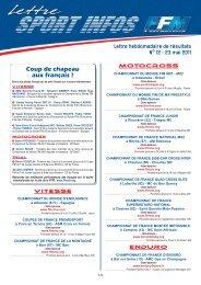 les Infos Sport du 23 mai - Mototribu