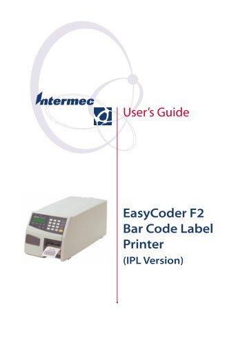 Driver UPDATE: Intermec EasyCoder F2 Fingerprint