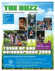 The Buzz - Highland Park Neighborhood Association