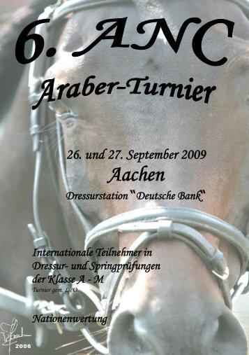 Aachen - Verband der Züchter des Arabischen Pferdes (VZAP)