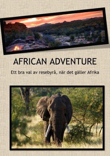 AFRICAN ADVENTURE - Gula Sidorna på eniro.se