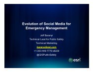 Evolution of Social Media for Emergency Management