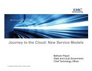 Journey to the Cloud: New Service Models