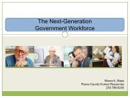 The Next-Generation Government Workforce