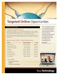 Targeted Online Opportunities