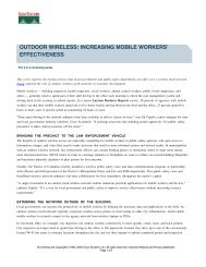 outdoor wireless: increasing mobile workers effectiveness