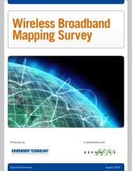 Wireless Broadband Mapping Survey
