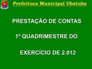 1º Quadrimestre 2012.pdf - Secretaria Municipal de Fazenda