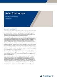 Asian Fixed Income
