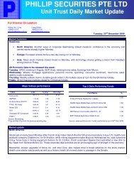 Unit Trust - Under Construction Home - Phillip Securities Pte Ltd