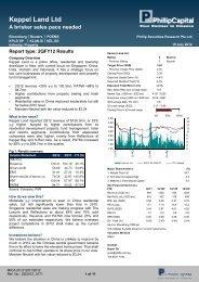Keppel Land Ltd - Under Construction Home - Phillip Securities Pte ...