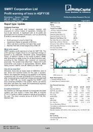 SMRT Corporation Ltd - Phillip Securities Pte Ltd