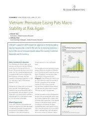 Vietnam: Premature Easing Puts Macro Stability at Risk Again