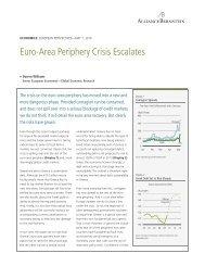Euro-Area Periphery Crisis Escalates