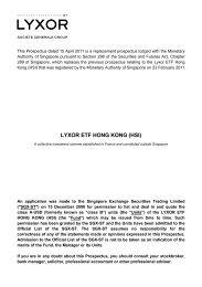 LYXOR ETF HONG KONG (HSI) - Under Construction Home