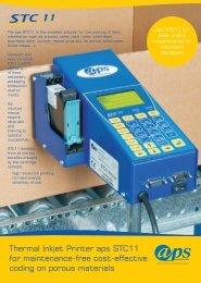 Thermal Inkjet Printer aps STC11 - aps - Alternative Printing Services