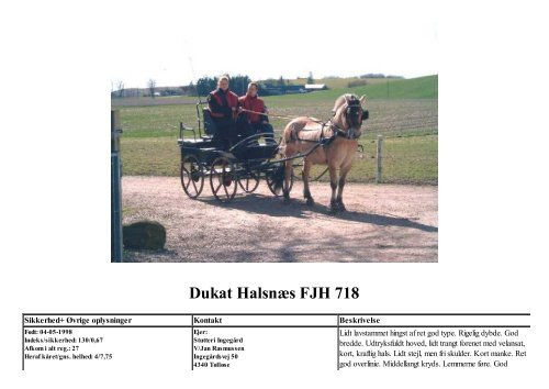 Dukat Halsnæs FJH 718