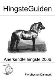 2006 - Fjordhesten Danmark