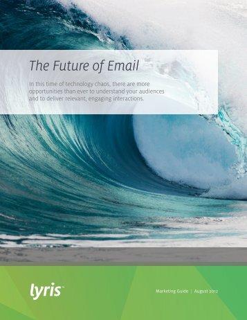 The Future of Email - Prisa Digital