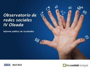 Informe de resultados Observatorio Redes Sociales (4ª ... - Inteco