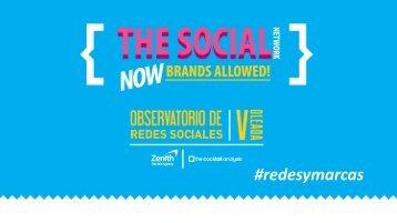 V Oleada del Observatorio de Redes Sociales - Prisa Digital