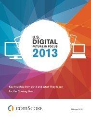2013 US Digital Future in Focus