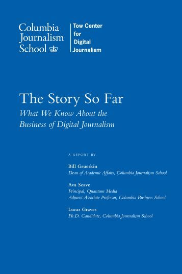 What We Know About the Business of Digital Journalism
