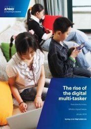The rise of the digital multi-tasker - KPMG