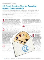 10 Email Creative Tips for Boosting Opens, Clicks and ... - Prisa Digital