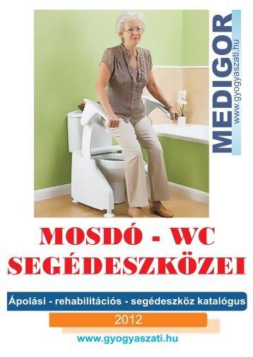 Mosdó-WC segédeszkozei