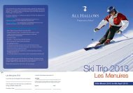 A4 4pp ski leaflet proof3 - All Hallows School - Extranet
