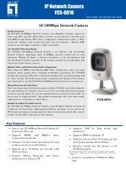 10/100Mbps Network Camera - LevelOne - Quality networking ...