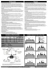 nederlands technical specifications english ... - Busse Yachtshop