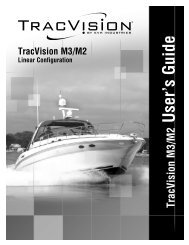 TracVision M3/M2 User's Guide, Linear Configuration - KVH