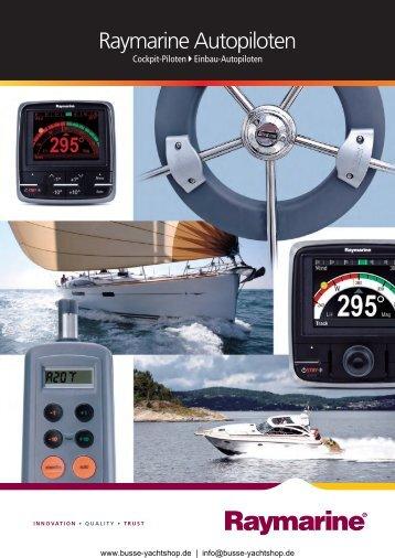 Raymarine Autopiloten - Busse Yachtshop