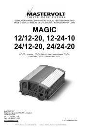 magic 12/12-20, 12-24-10 24/12-20, 24/24-20 - Busse Yachtshop