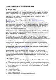 Adobe PDF - G33.1 Asbestos Management Plans