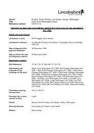 Land at the Walmsgate Estate - Lincolnshire County Council
