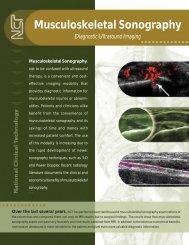Musculoskeletal Sonography