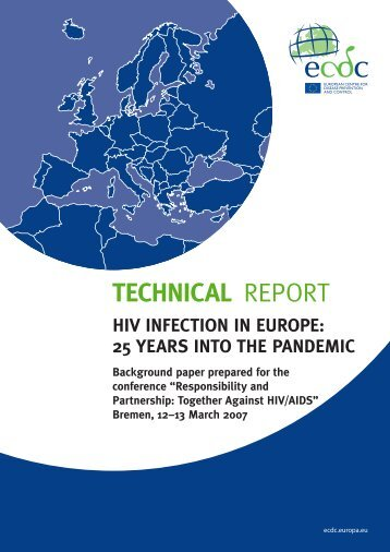hiv infection in europe - European Centre for Disease Prevention ...