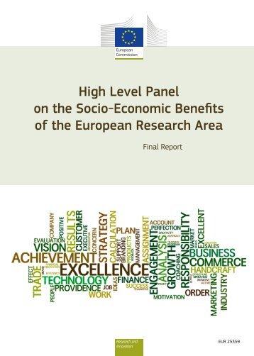 Socio-Economic benefits of ERA - European Commission - Europa