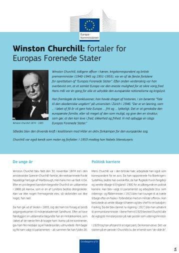 Winston Churchill - Europa