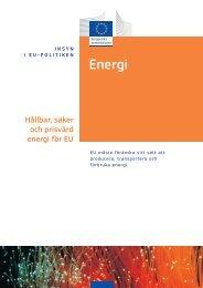 Hållbar, säker och prisvärd energi för EU - Europa