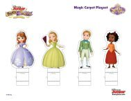 Sofia the First: Playset