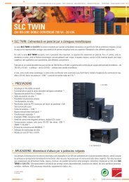 SLC TWIN - Catálogo de Salicru