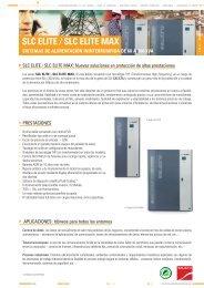 SLC ELITE / SLC ELITE MAX - Salicru