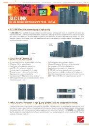 SLC LINK - Catálogo de Salicru