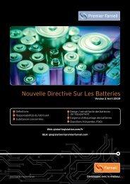 Nouvelle Directive Sur Les Batteries - Farnell