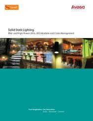 Avago- Solid State Lighting - Farnell