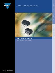 High Speed Optocouplers Selector Guide - Farnell